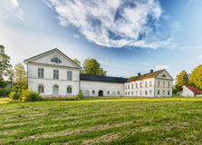 Herrevads Kloster in Skane. Herravad kloster is an old cistercian monastery situated near Ljungbyhed in the skane region of Sweden Stock Photo