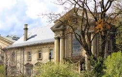 Herrgård i klassisk stil Arkivfoton
