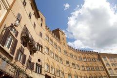 Herrgård Siena, Tuscany, Italien Royaltyfri Foto