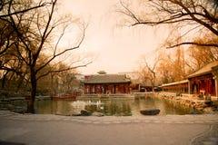 Herrgården av prinsgongen Arkivbilder