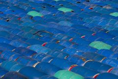Herring barrels, sweden Stock Photography