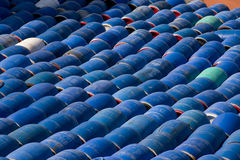 Herring barrels, sweden Royalty Free Stock Image