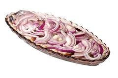Herring dish Royalty Free Stock Image