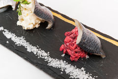 Herring fillets Royalty Free Stock Photo