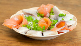 Herring and redfish Royalty Free Stock Image