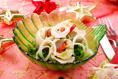 Free Herring Rolls With Chive And Onion For Christmas Royalty Free Stock Photos - 11905468
