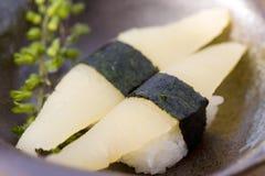 Herring row sushi Stock Images