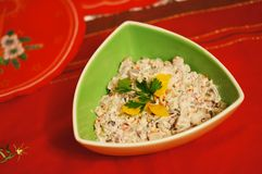 Herring salad Royalty Free Stock Photography