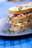 Herring salad sandwich Stock Image
