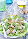 Herring salad Stock Photo