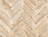 Herringbone ściany lub podłoga naturalna parkietowa bezszwowa tekstura Obrazy Stock