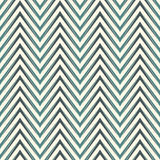 Herringbone abstract background. Blue colors seamless pattern with chevron diagonal lines. Royalty Free Stock Image