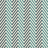 Herringbone abstract background. Blue colors seamless pattern with chevron diagonal lines. Can be used for digital paper, textile print, page fill. Vector Royalty Free Stock Photography