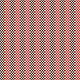 Herringbone abstract background. Red colors seamless pattern with chevron diagonal lines. Can be used for digital paper, textile print, page fill. Vector stock illustration