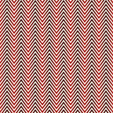 Herringbone abstract background. Red colors seamless pattern with chevron diagonal lines. Can be used for digital paper, textile print, page fill. Vector royalty free illustration