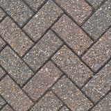 Herringbone brick pattern Stock Photo