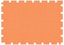 Herringbone brickwork pattern Stock Photos