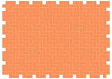 Herringbone brickwork pattern Stock Photos