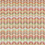 Herringbone Christmas Seamless pattern Stock Image
