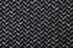 Herringbone fabric pattern texture background closeup Stock Image
