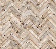 Herringbone naturalna modrzewiowa parkietowa bezszwowa podłogowa tekstura Fotografia Royalty Free