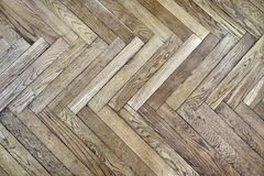 Herringbone parquet Royalty Free Stock Photography