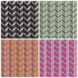Herringbone Pattern Stock Photo