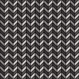 Herringbone Pattern_Black-Gray Fotografia de Stock Royalty Free