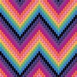 Herringbone pattern_Multi Zdjęcia Royalty Free