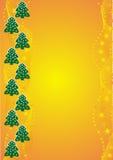 herringbone pomarańczowy strony tytuł Obrazy Royalty Free