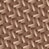 Herringbone style background with wood Stock Image