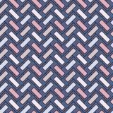 Herringbone tapeta Abstrakcjonistyczny parkietowy tło Bezszwowy wzór z prostokątnymi płytkami Klasyczny geometryczny ornament ilustracji
