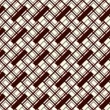 Herringbone tapeta Abstrakcjonistyczny parkietowy tło Bezszwowy wzór z prostokątnymi płytkami Nowożytny geometryczny ornament ilustracji
