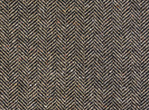 Herringbone tweed background with closeup Stock Images