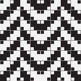 Herringbone Weave, Optical Illusion, Vector Seamless Pattern Royalty Free Stock Image
