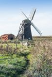Herringfleet Mill, Norfolk, UK Stock Image