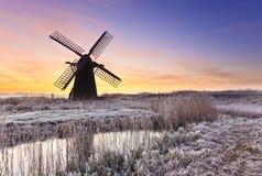 Herringfleet Sunrise Royalty Free Stock Image