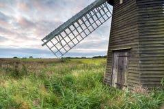 Herringfleet Windmill at Dusk Royalty Free Stock Photos