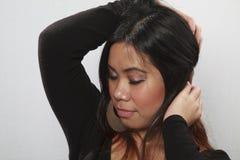 Herrliche asiatische Frau Lizenzfreie Stockfotos