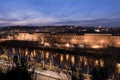 Herrliche Aussichten von Rom Stockfotografie