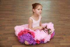 Herrliche Ballerina Lizenzfreie Stockfotos