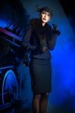 Herrliche Frau Stockbild