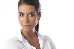 Herrliche junge Frau Lizenzfreies Stockfoto