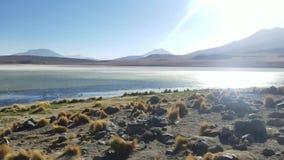 Herrliche Landschaften von Sur Lipez, Süd-Bolivien stock video