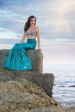 Herrliche Meerjungfrau stockbilder