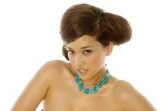 Herrliche reizvolle asiatische Frau Lizenzfreie Stockfotografie