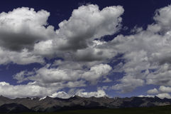 Herrliche Wolken Lizenzfreie Stockfotografie