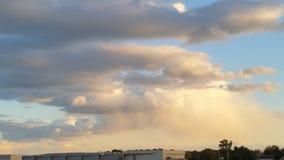 Herrliche Wolken Stockfoto