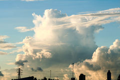 Herrlicher Himmel Stockfotos