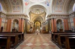 Herrlicher Kircheinnenraum Stockfotografie